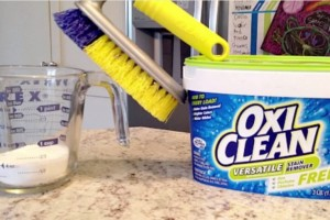 Clean Grout Recipe